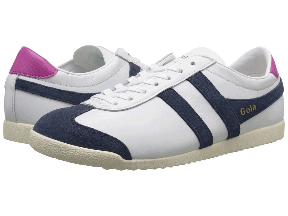 Gola Bullet Leather (White/Navy) Women