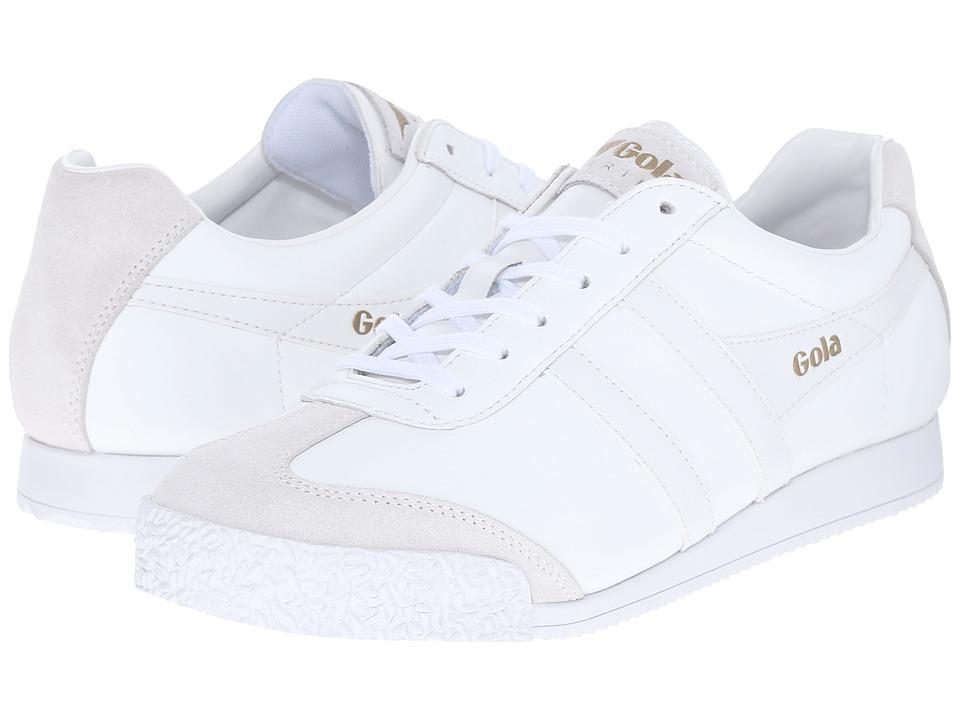 Gola - Harrier Leather (White/White) Women