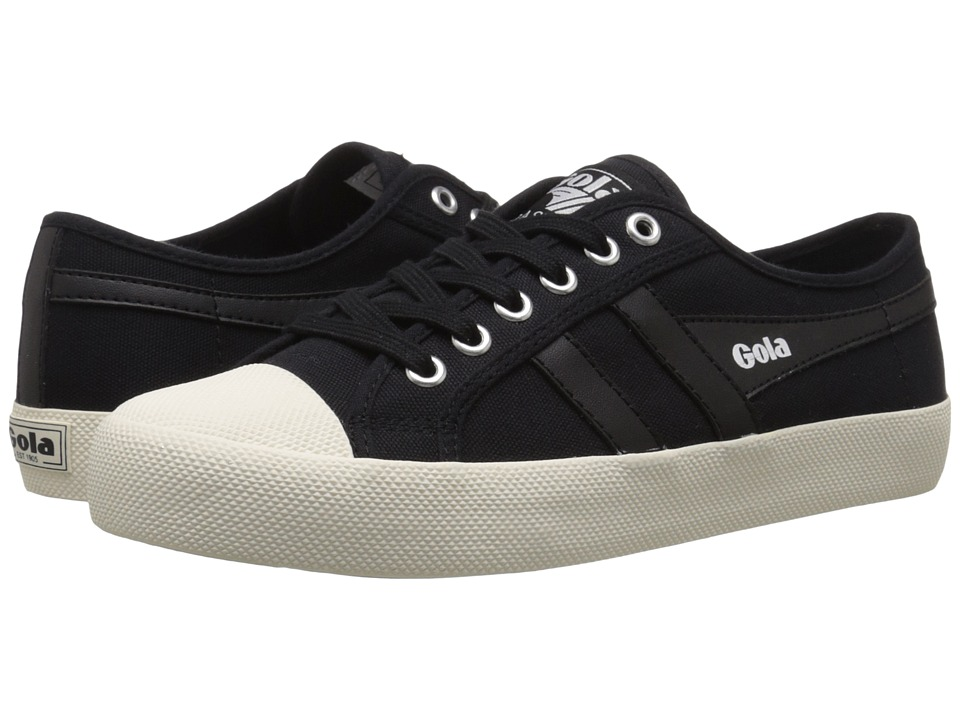Gola Coaster (Black/Black/Off-White) Women