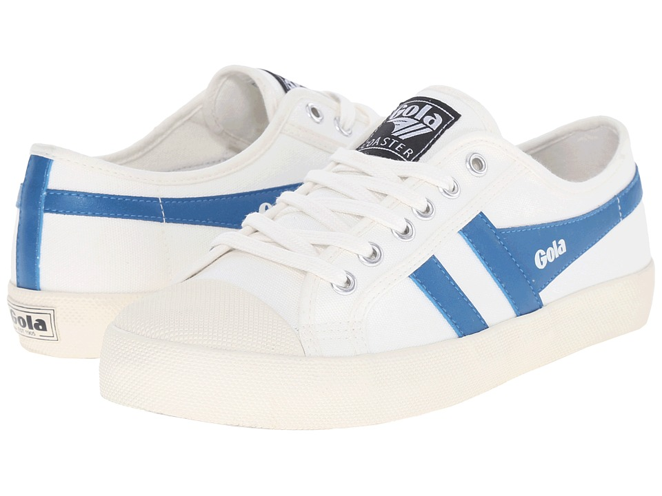 Gola Coaster (Off-White/Ocean Blue) Women