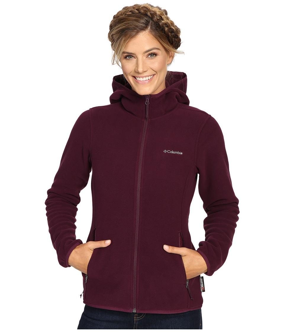Columbia - Fuller Ridge Hooded Fleece Jacket (Purple Dahlia) Women