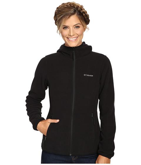 Columbia Fuller Ridge Hooded Fleece Jacket - Black