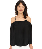 Vince Camuto - Cold-Shoulder Rumple Blouse