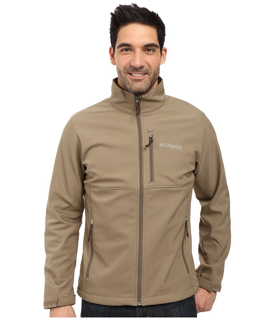 Columbia PHG Ascender Softshell Jacket (Flax/AP Xtra) Men