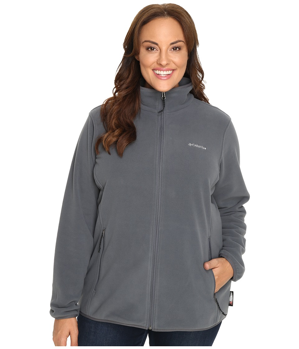 Columbia Plus Size Fuller Ridge Fleece Jacket (Graphite) Women