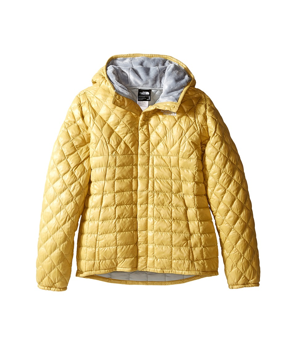 The North Face Kids Lexi ThermBall Hoodie (Little Kids/Big Kids) (Cocoon Yellow) Girl