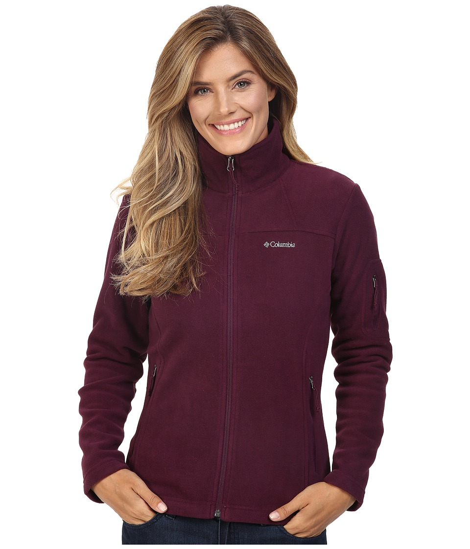 Columbia Fast Trek II Full-Zip Fleece Jacket (Purple Dahlia) Women