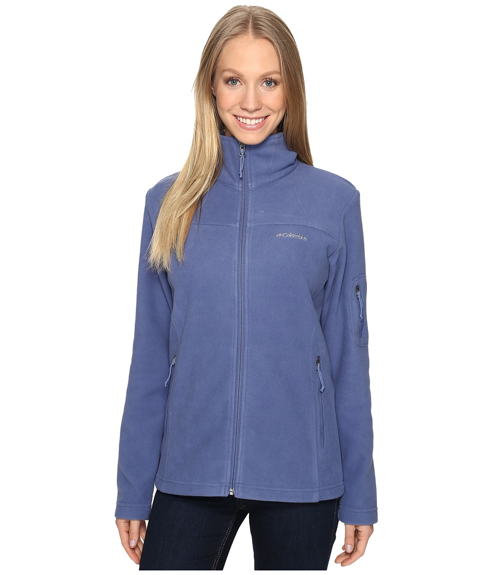 Columbia Fast Trek II Full-Zip Fleece Jacket (Bluebell) Women