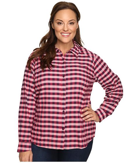 Columbia Plus Size Silver Ridge™ Plaid Long Sleeve Shirt