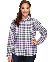 Columbia - Plus Size Silver Ridge™ Plaid Long Sleeve Shirt