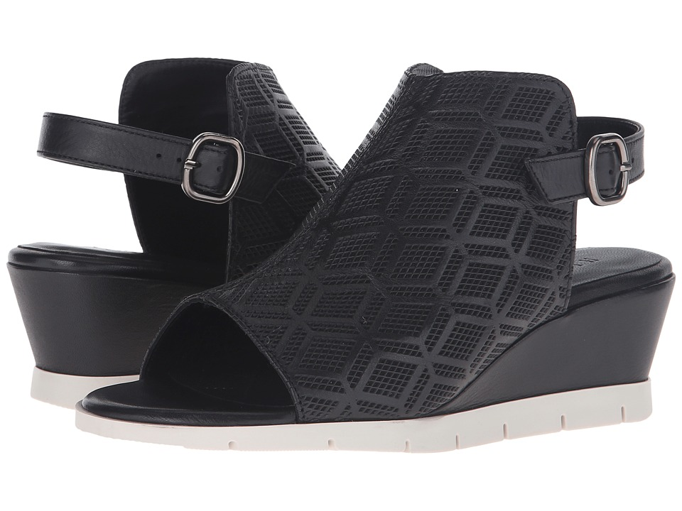 Hispanitas Claire Sauvage Black/Sauvage Black Womens Wedge Shoes