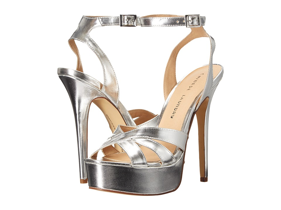 Chinese Laundry - Alyssa (Silver) High Heels