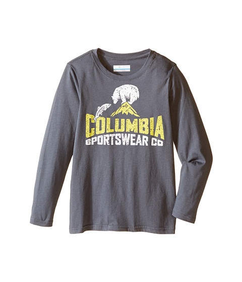 Columbia Kids CSC Bear N' Fish Long Sleeve Shirt (Little Kids/Big Kids)