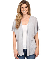 Lilla P - Soft Draped Oversized Open Cardigan
