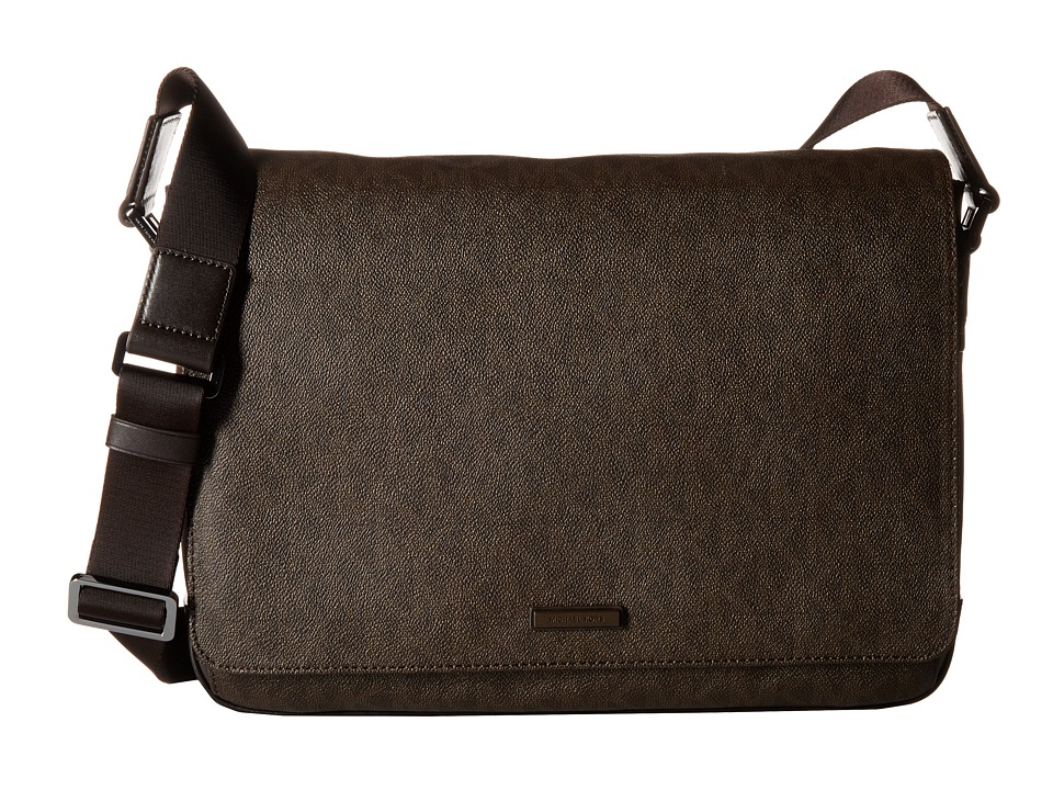 Michael Kors - Jet Set Large Messenger (Brown) Messenger Bags