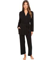 Oscar de la Renta - Luxe Jersey Three-Piece Pajama
