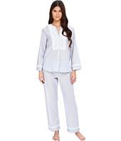 Oscar de la Renta - Yarn Dye Stripe Cotton Woven Pajama
