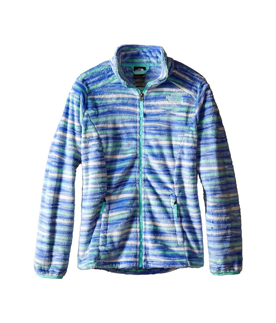 The North Face Kids Osolita Jacket (Little Kids/Big Kids) (Grapemist Blue Wavy Stripe (Prior Season)) Girl