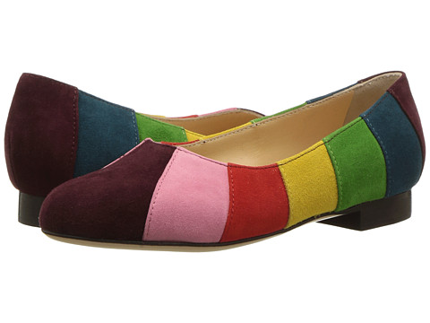 Charlotte Olympia Incy Priscilla (Toddler/Little Kid) - Multicolor Suede