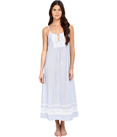 Oscar de la Renta - Yarn Dye Stripe Cotton Woven Long Gown