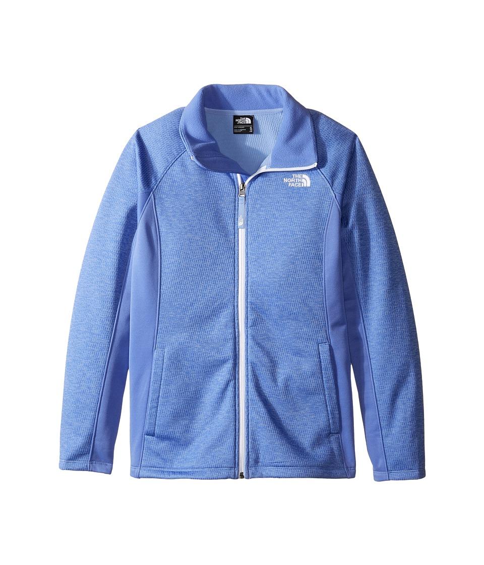 The North Face Kids Arcata Full Zip Jacket (Little Kids/Big Kids) (Grapemist Blue Heather (Prior Season)) Girl