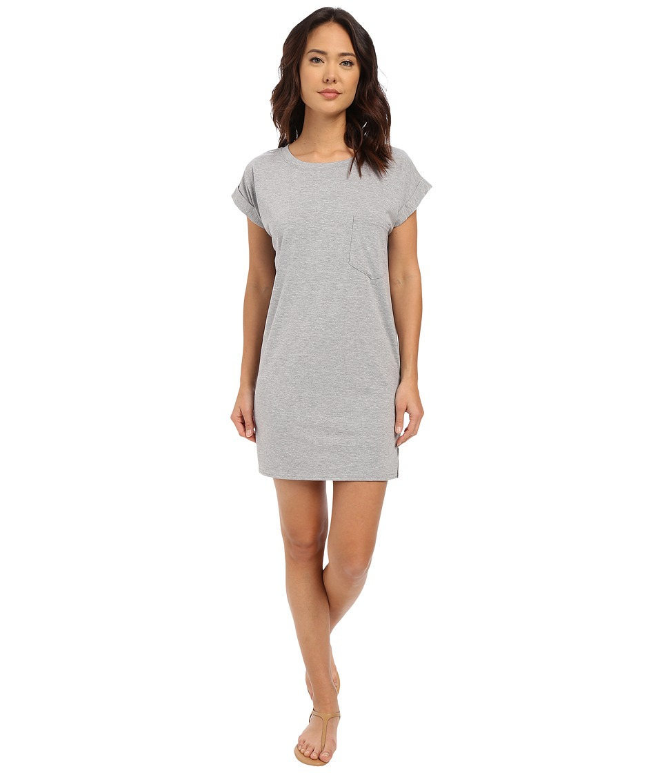 Culture Phit Adie T Shirt Dress with Pocket Heather Grey Womens Dress