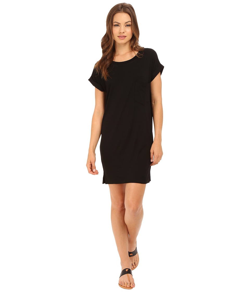 Culture Phit Adie T Shirt Dress with Pocket Black Womens Dress