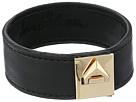 Sam Edelman - Narrow V Lock Leather Bracelet