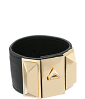 Sam Edelman - Wide V Lock Leather Bracelet