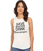 Brigitte Bailey - Save Water Drink Champagne Tank Top