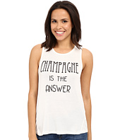 Brigitte Bailey - Champagne Is the Answer Tank Top