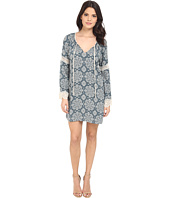 Brigitte Bailey - Camille Raglan Lace Trim Dress