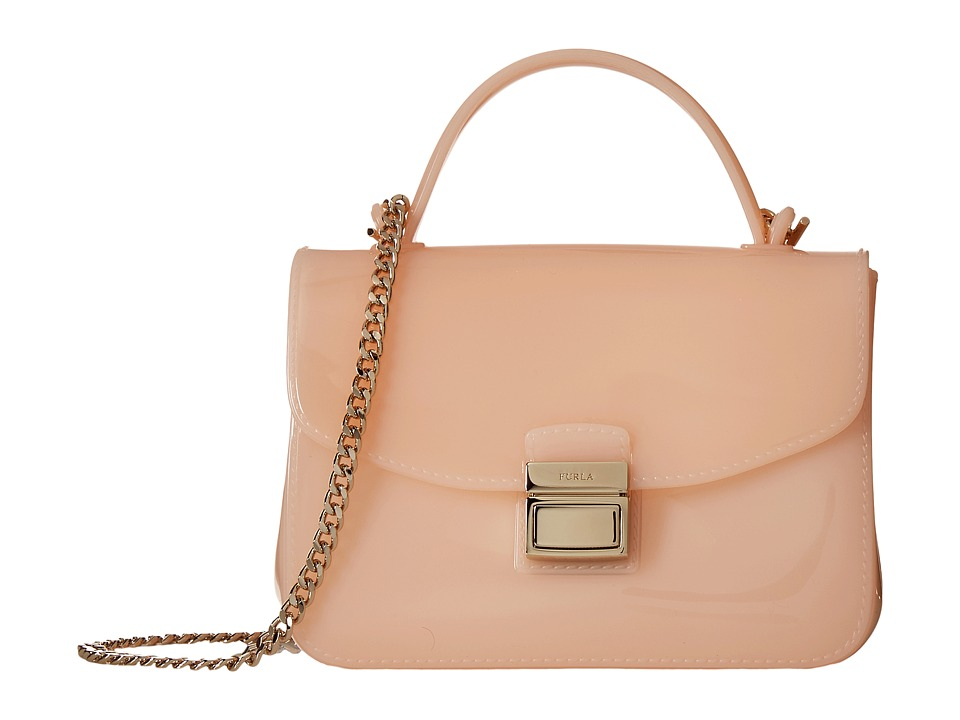 Furla - Candy Sugar Mini Crossbody (Magnolia) Cross Body Handbags
