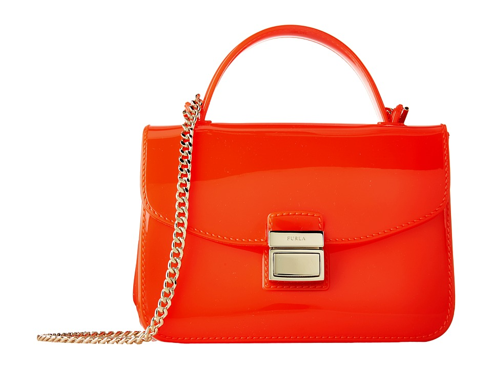 Furla - Candy Sugar Mini Crossbody (Arancio) Cross Body Handbags