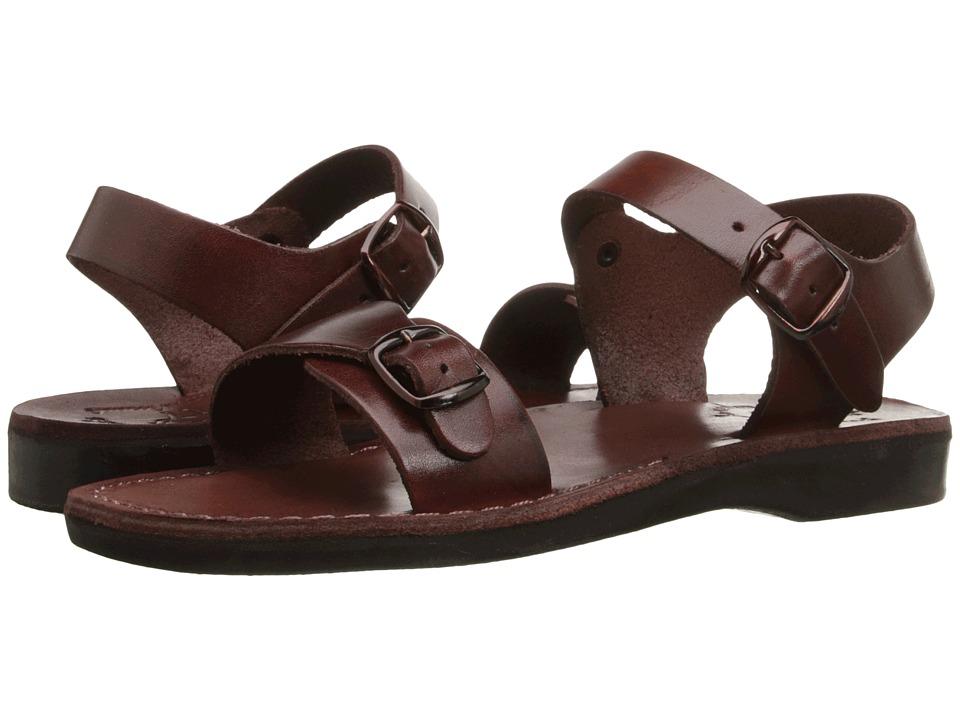 Jerusalem Sandals The Original Womens Brown Womens Shoes