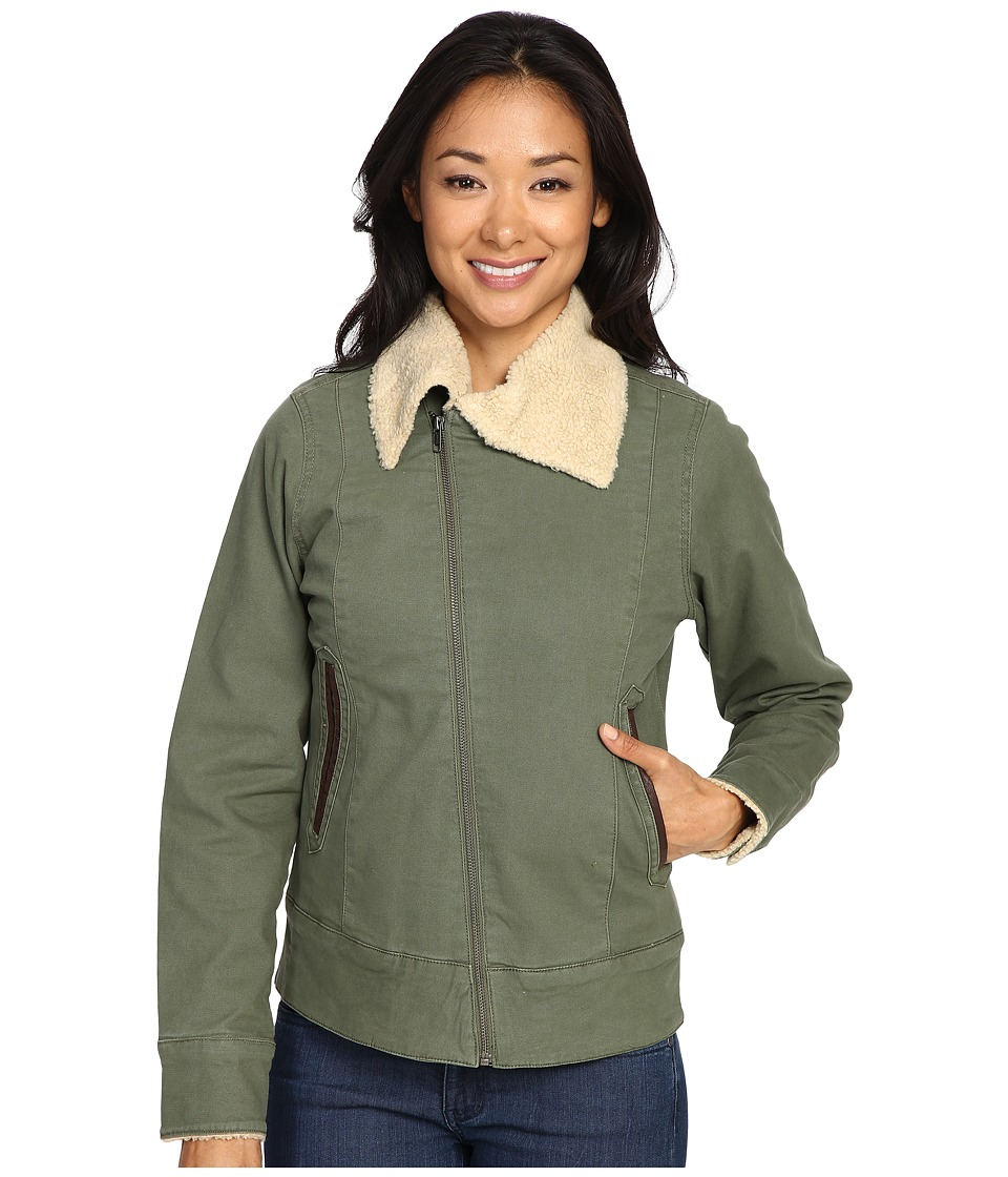 Mountain Khakis Ranch Shearling Jacket (Olive Drab) Women