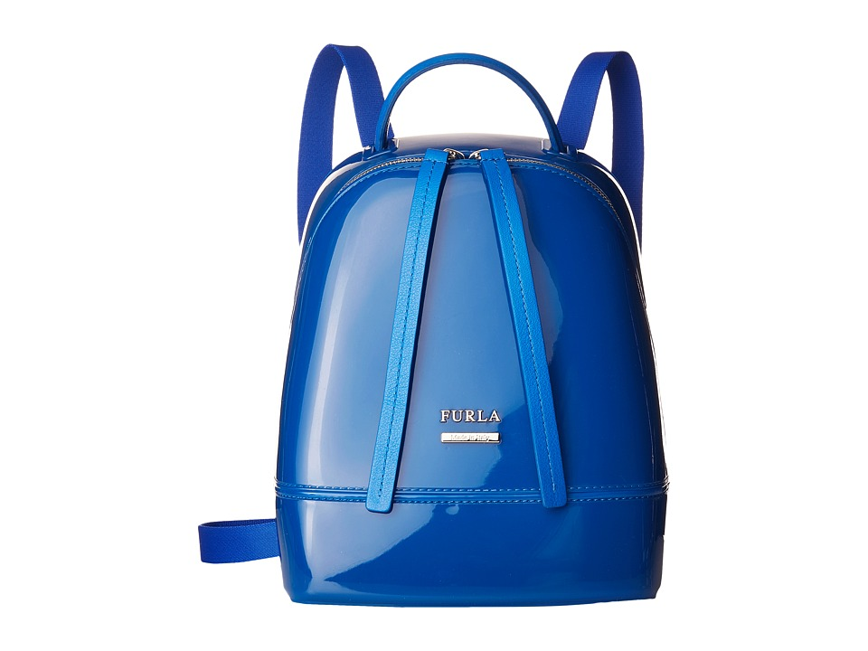 Furla - Candy Mini Backpack (Bluette) Backpack Bags