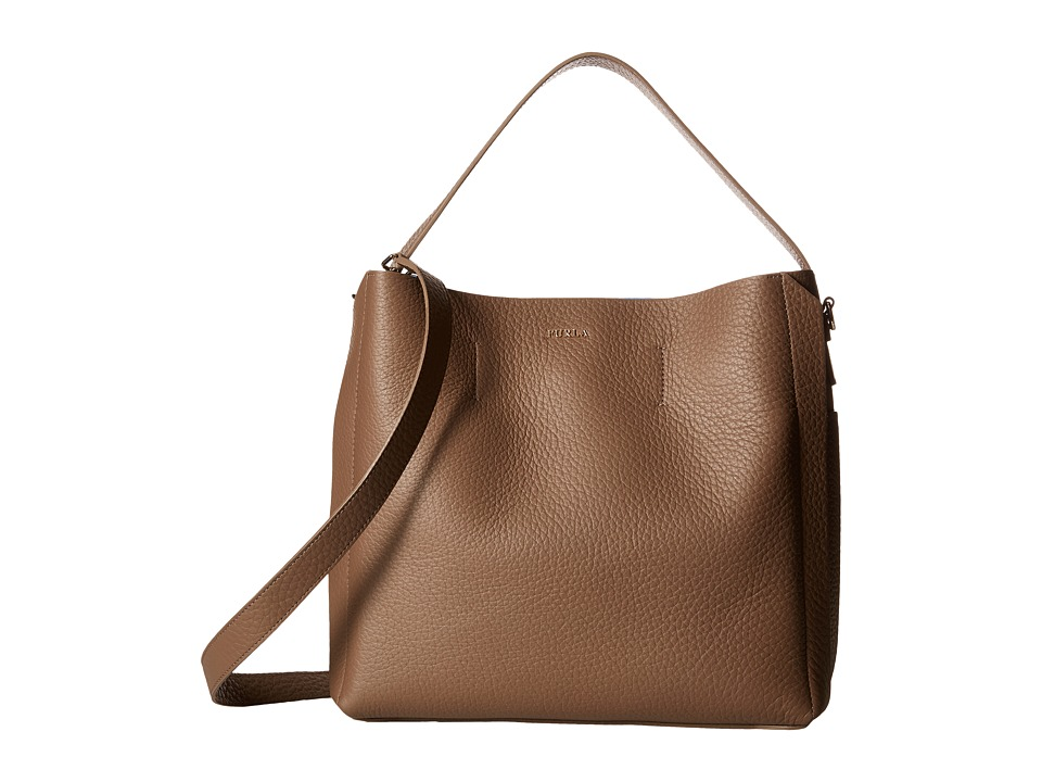 Furla - Capriccio Medium Hobo (Daino) Hobo Handbags
