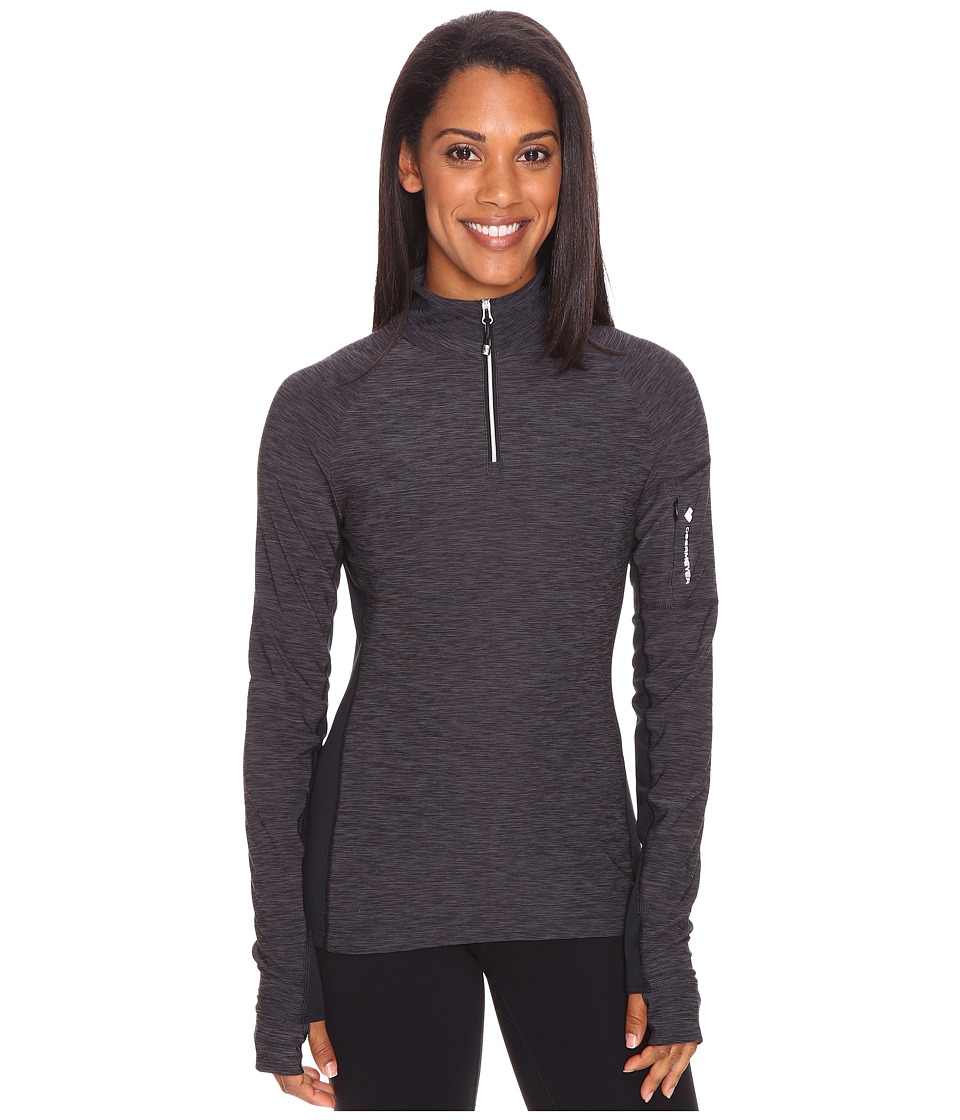Obermeyer Nora Baselayer Zip Top (Black) Women