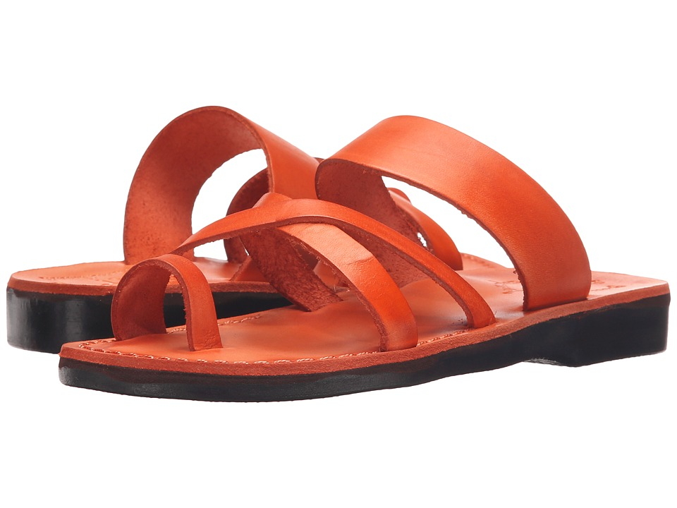 Jerusalem Sandals The Good Shepherd Womens Orange Womens Shoes