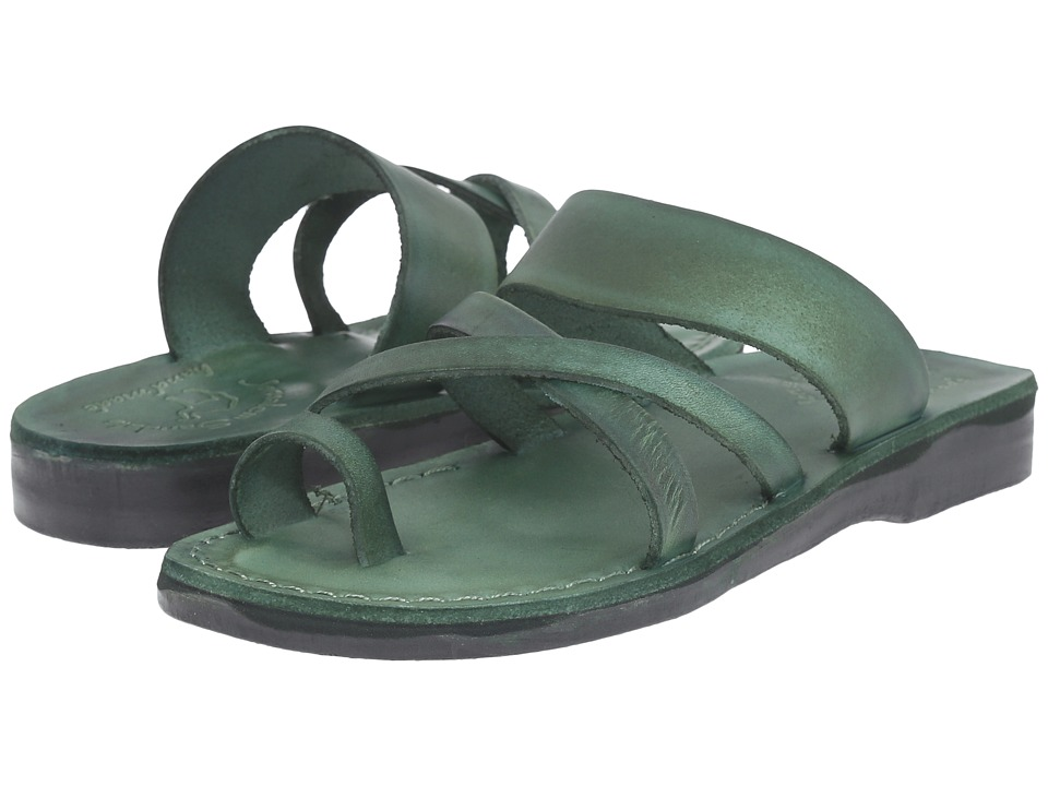 Image of Jerusalem Sandals - The Good Shepherd - Womens (Green) Women's Shoes