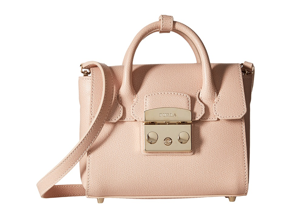 Furla - Metropolis Mini Satchel (Magnolia) Satchel Handbags
