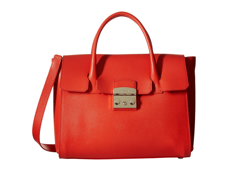 Furla - Metropolis Medium Satchel (Ares) Satchel Handbags