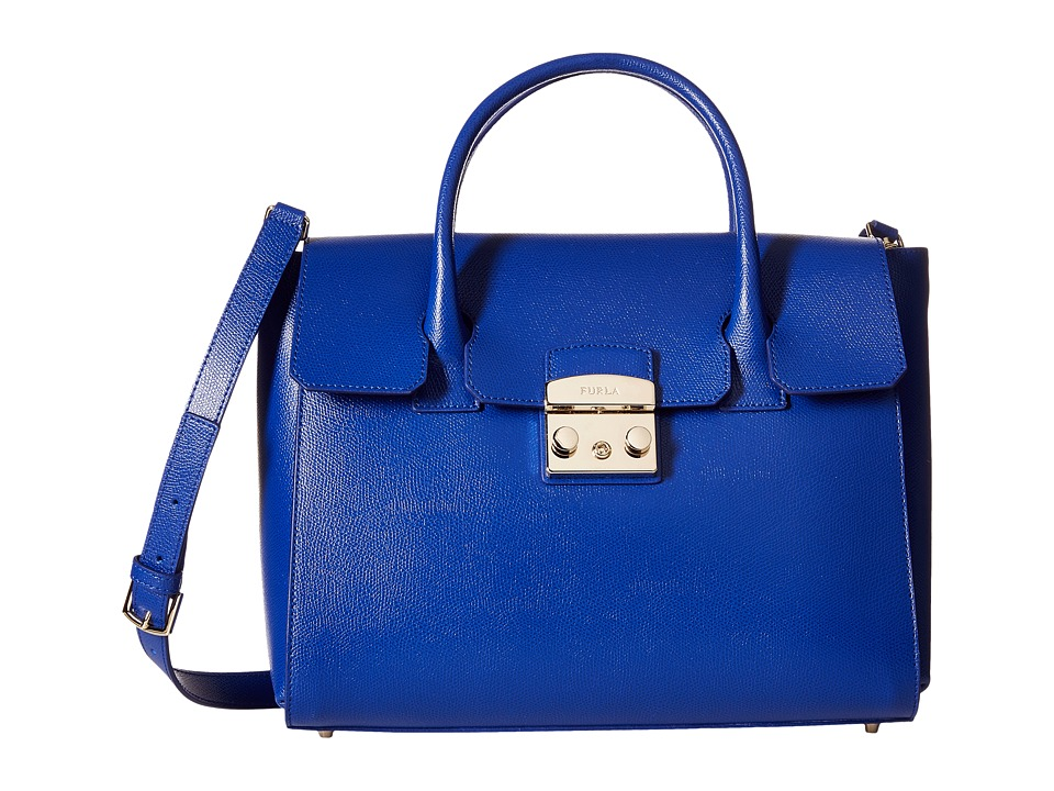 Furla - Metropolis Medium Satchel (Ares 1) Satchel Handbags