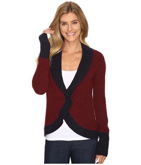 Mountain Khakis Fleck Shawl Cardigan Sweater - Malbec