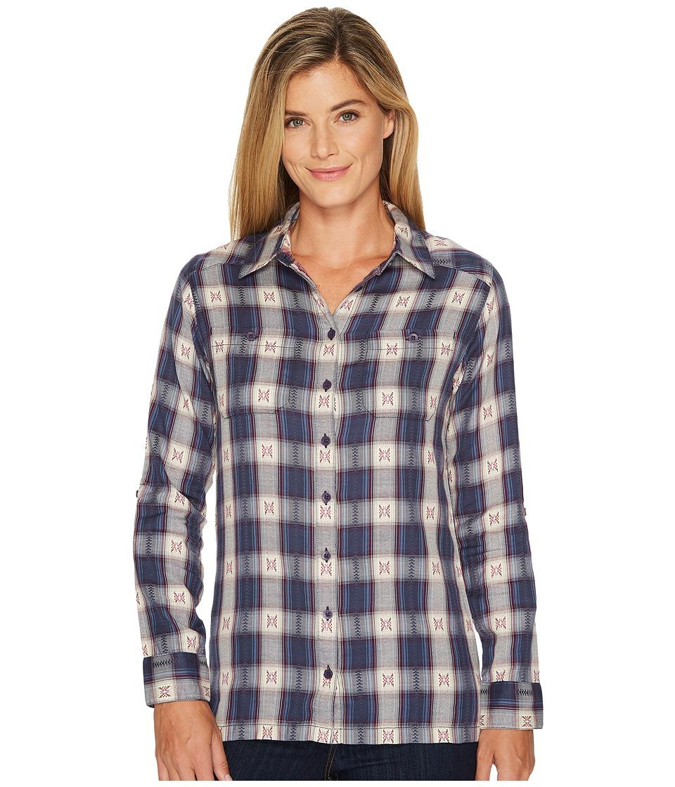 Mountain Khakis - Tavern Flannel Shirt (Blackberry) Womens Clothing