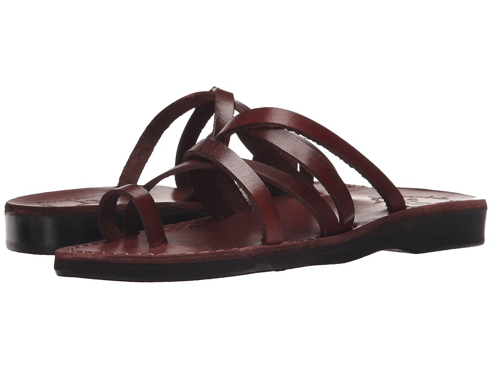 Jerusalem Sandals Ariel Womens Brown Womens Shoes