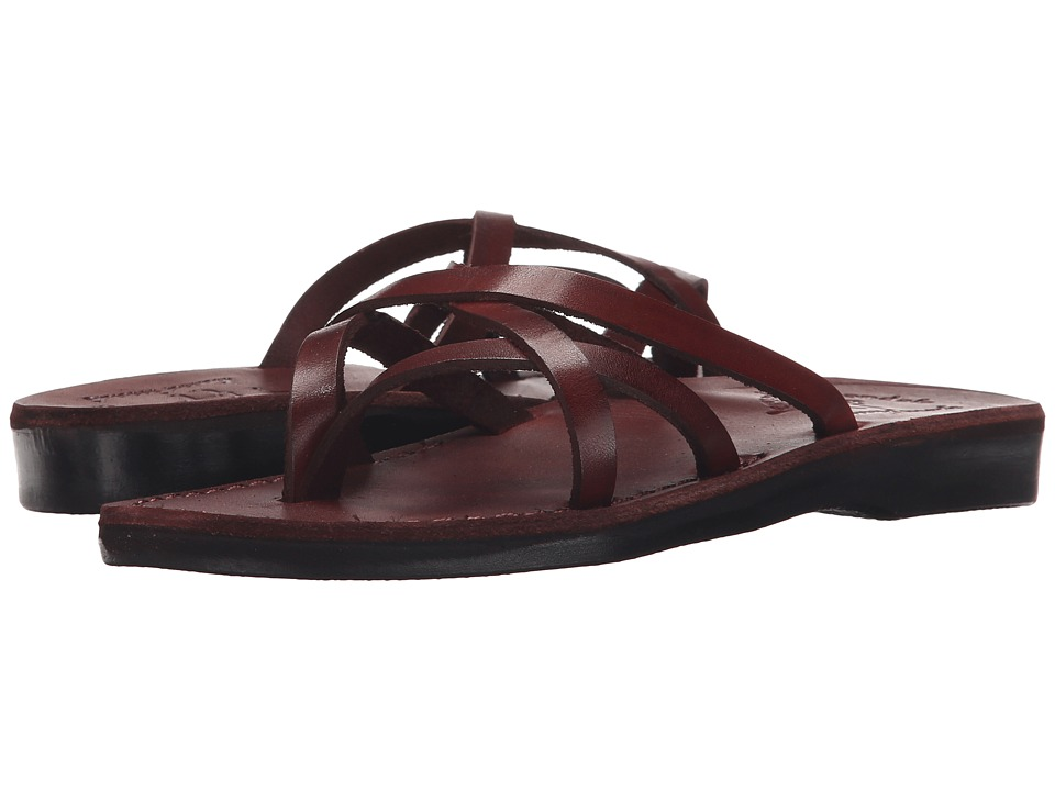 Jerusalem Sandals Tamar Womens Brown Womens Shoes