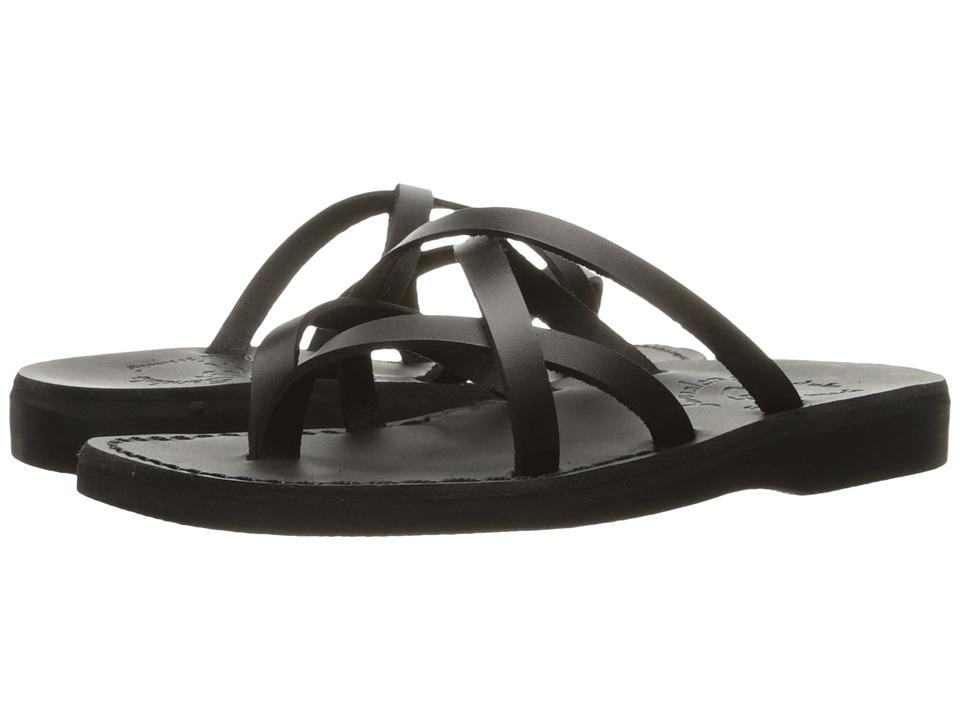 Jerusalem Sandals Tamar Womens Black Womens Shoes