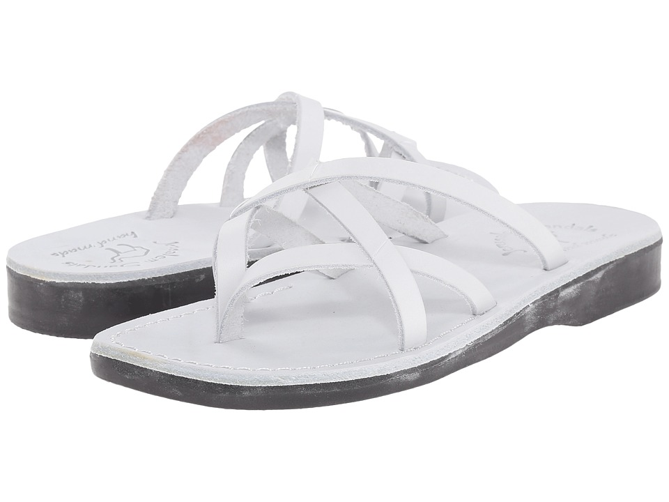 Jerusalem Sandals Tamar Womens White Womens Shoes
